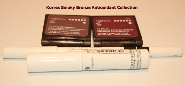 Korres Smoky Bronze Antioxidant Eye Collection atsauksme