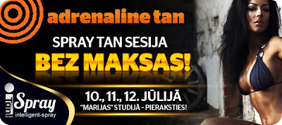Adrenaline tan spray tan bez maksas!