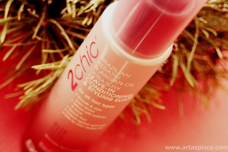Atsauksme: Giovanni 2chic Leave-In Conditioning and Styling Elixir