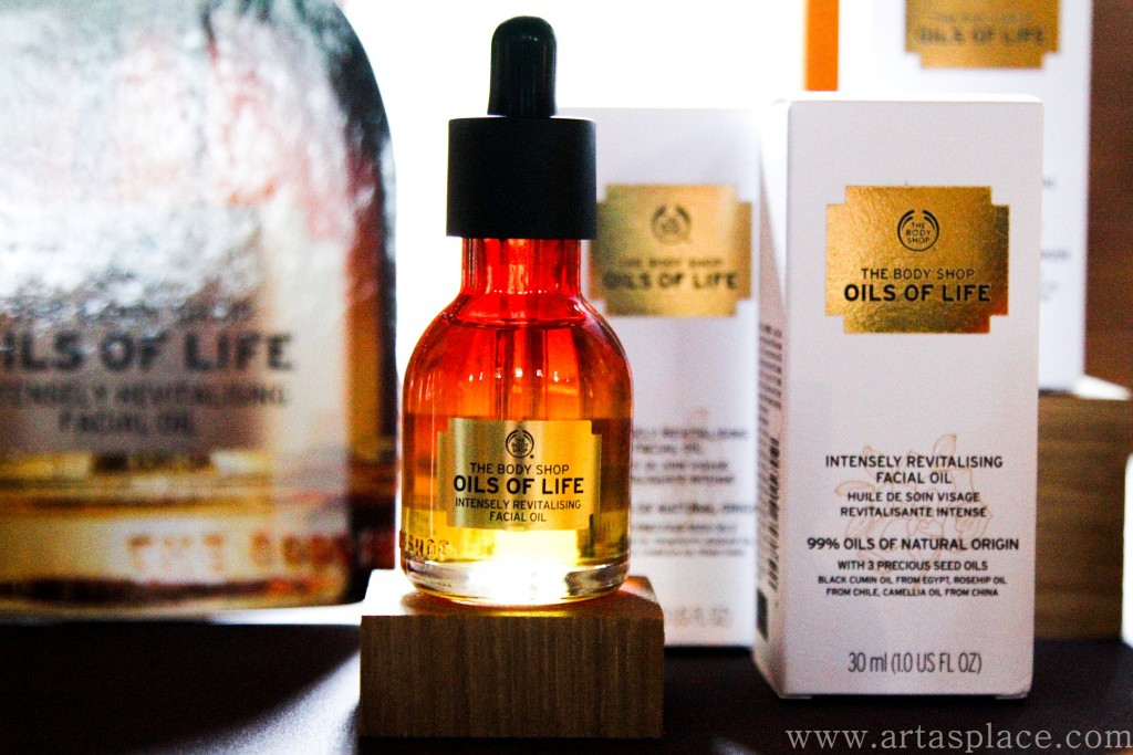 The Body Shop Oils Of Life un SPA Of The World
