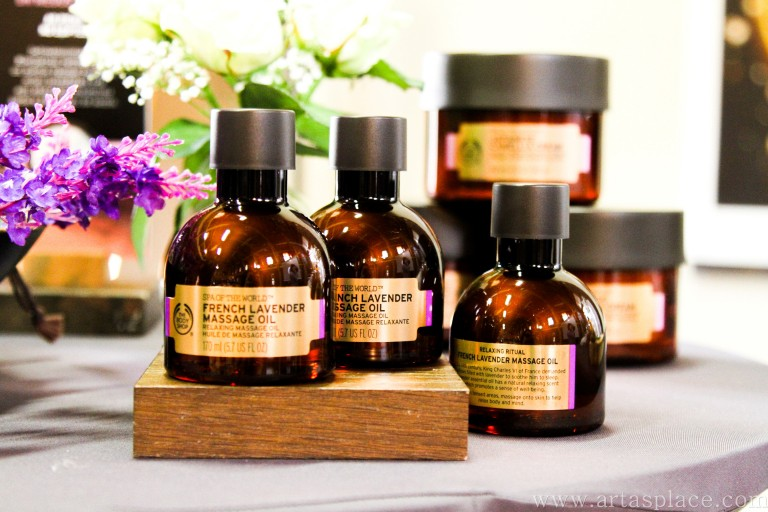 The Body Shop Oils Of Life un SPA Of The World produktu prezentācija