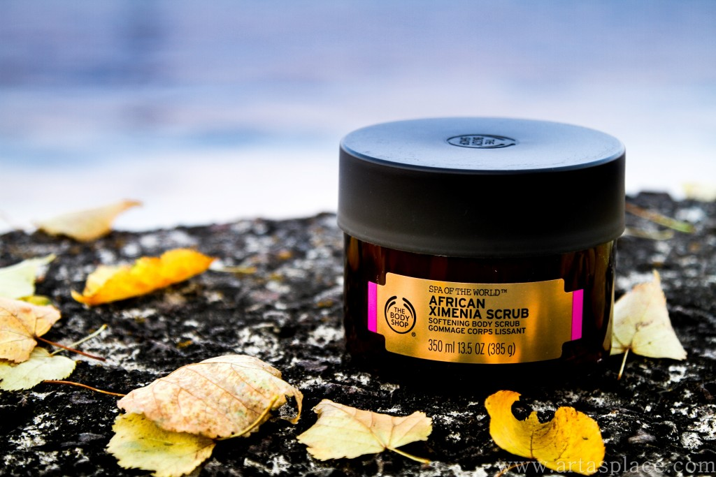 African Ximenia Scrub The Body Shop