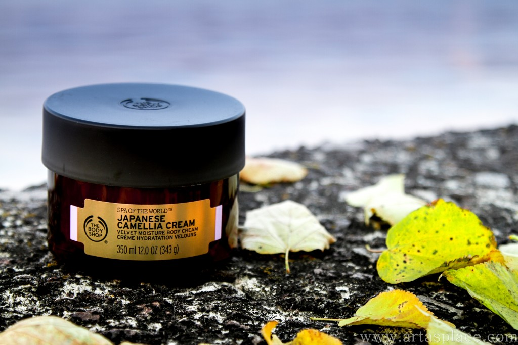 Japanese Camelia Cream The Body Shop review