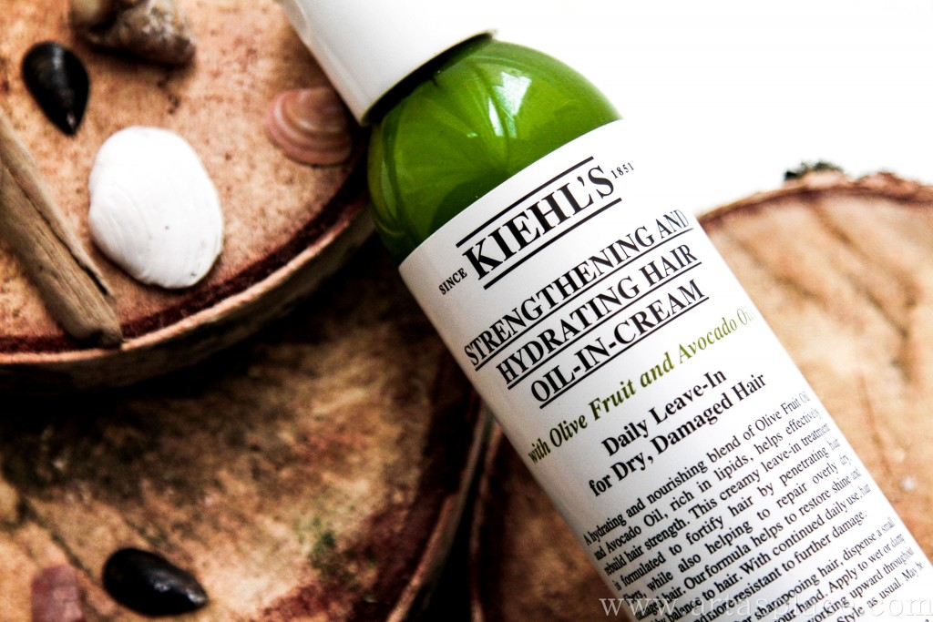 Kiehl's Strenghtening and Hydrating Hair Oil-in-Cream
