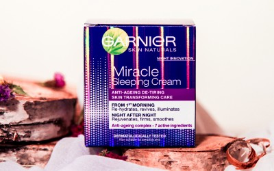 Atsauksme: Garnier Miracle Sleeping Cream