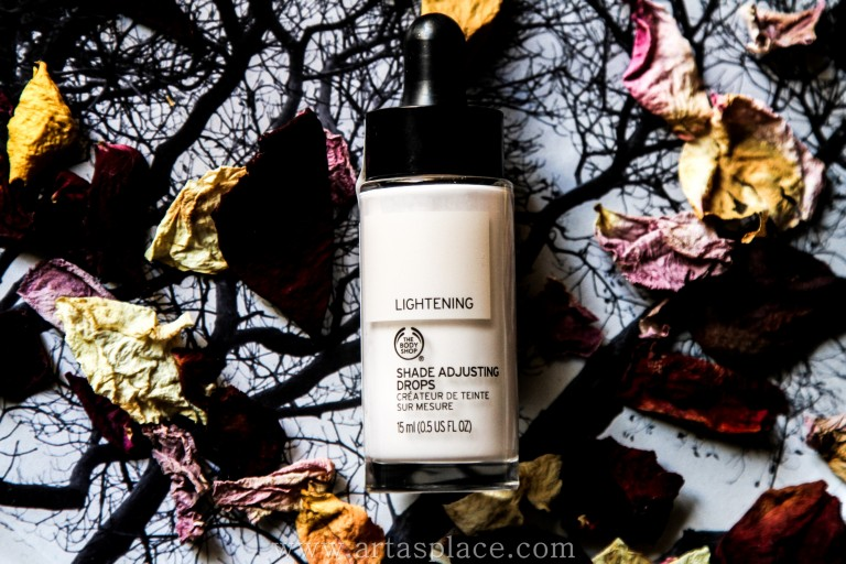 Atsauksme: The Body Shop Lightening Shade Adjusting Drops