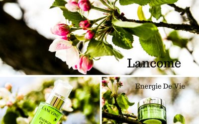 Atsauksme: Lancome Energie De Vie Liquid Care un The Sleeping Mask