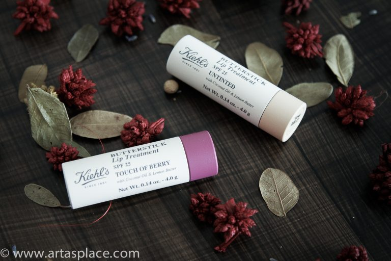 Kiehl's Butterstick Lip Treatment SPF 25 Untinted un Touch Of Berry