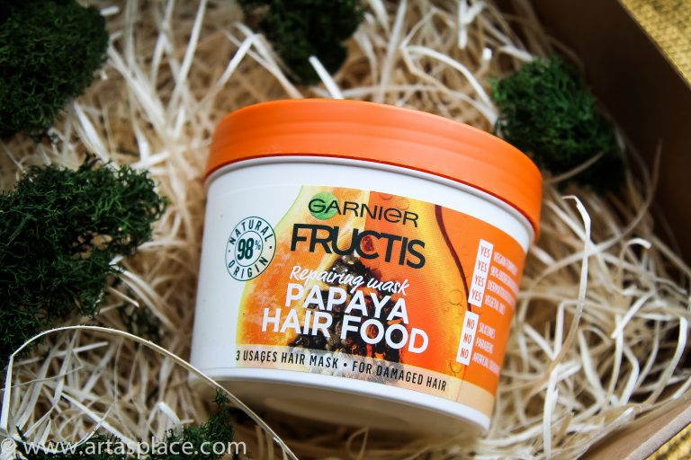 Fructis Hair Food papaijas matu maska